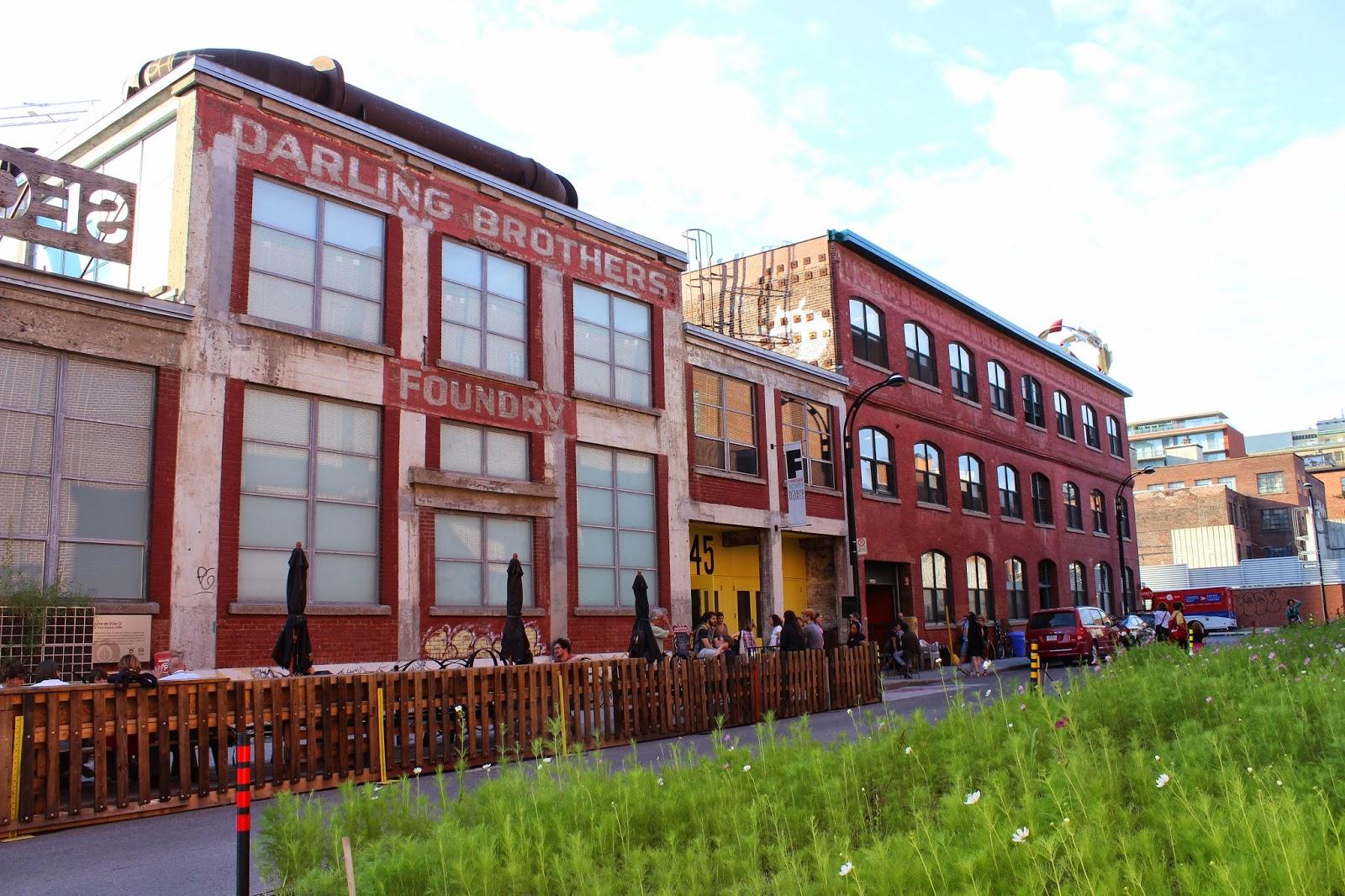 patrimoine industriel montreal : la fonderie Darling
