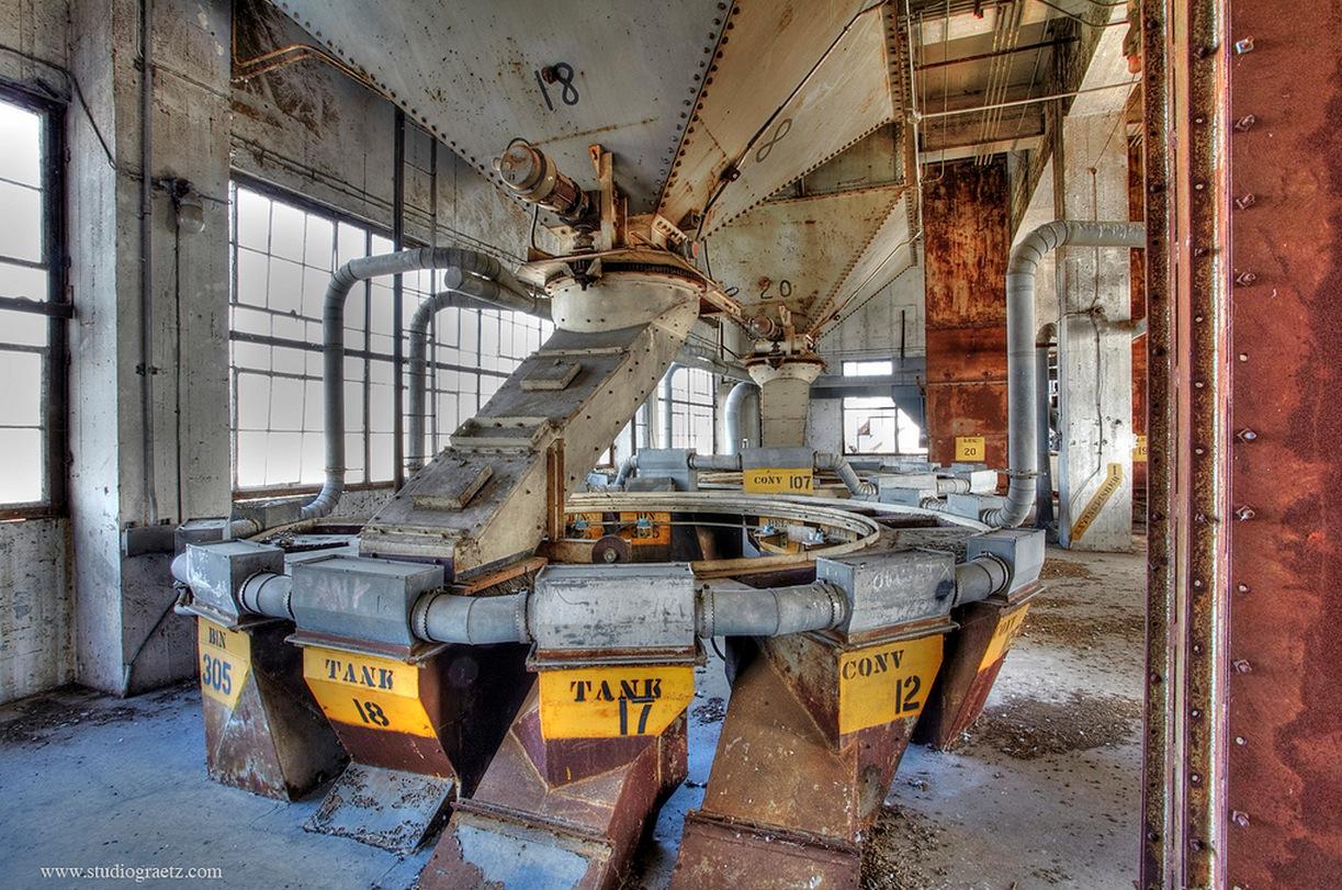 patrimoine industriel montreal : silo 5 intérieur