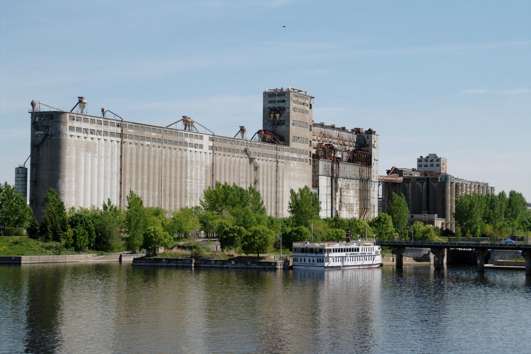 patrimoine industriel montreal : silo n°5