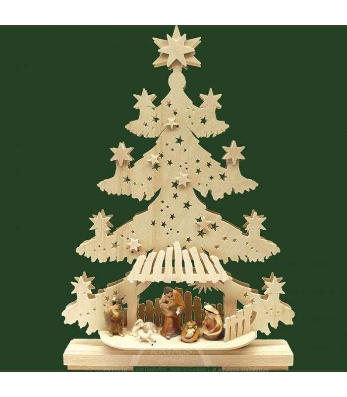 Les Qualités Des Sapins De Noël En Bois